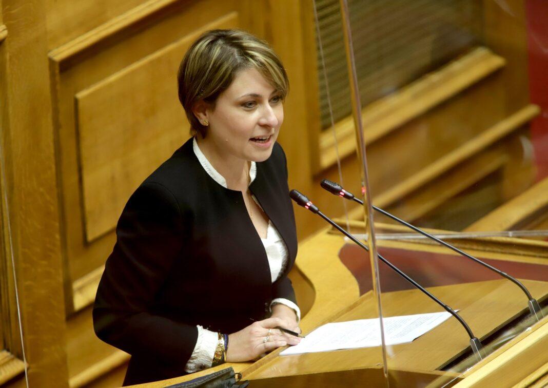 Αλεξοπούλου Βήμα Βουλής υπουργείο εξωτερικών